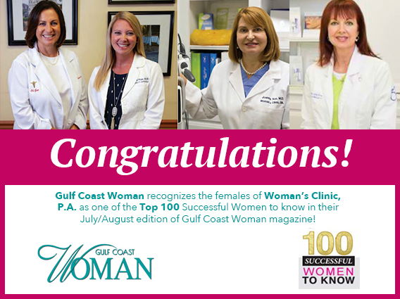 100 Successful Women to Know: Woman's Clinic, P.A.